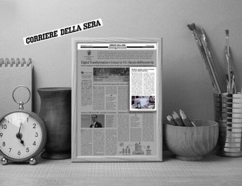 Parlano di noi sul Corriere della Sera e su Il Sole 24 Ore!